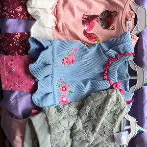 NWT 3 Toddler Girl Outfits Size 24 Months